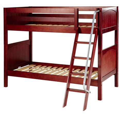 bunk bed ladders maxtrix medium bunk bed w angle ladder twin twin