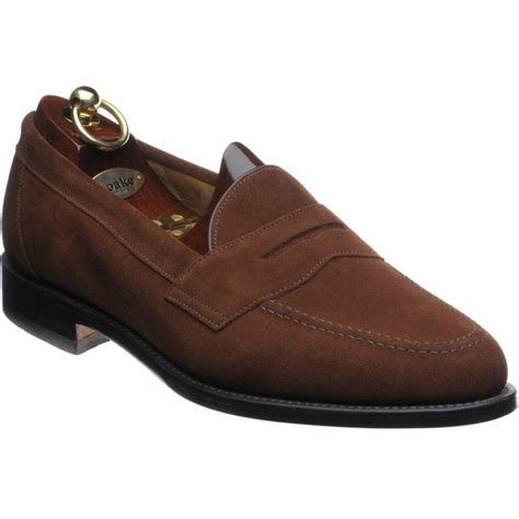 loake loafers loake shoes loake shoemaker eton loafers in brown