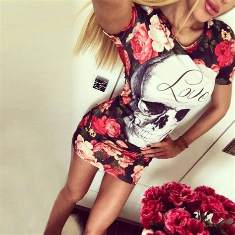 Casual Mickey Dress Bt30 womens flower floral printed mickey sleeve ruffle casual bridesmaid of