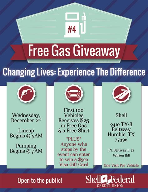 Fuel Giveaway - free gas giveaway 500 gift card drawing from shell