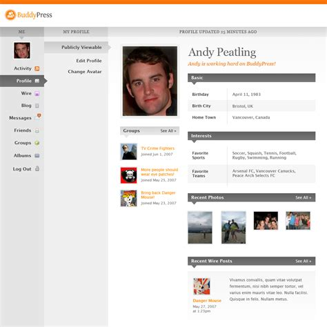 profile pictures your profile andy on
