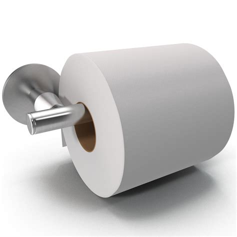 with toilet paper 3ds max toilet paper holder