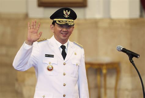 ahok governor jakarta governor ahok named suspect in high profile