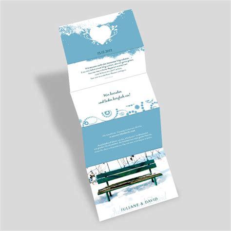 Winter Hochzeitseinladungen by Fotokarten Hochzeitseinladung Herzergreifend Winterlich