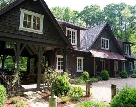 stain wood window and porches on