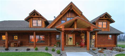 the starview log home floor plans nh custom log homes