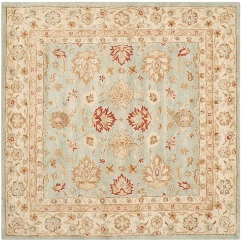 10 foot square blue rug safavieh antiquity grey blue beige 10 ft x 10 ft square
