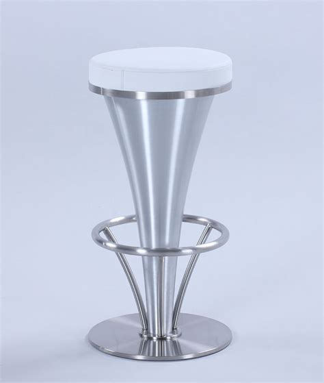 Pedestal Counter Height Table And Stools by V Pedestal Counter Height Stool White Chintaly Imports