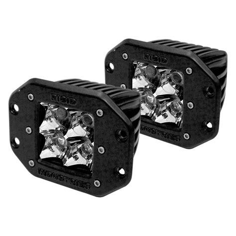 Rigid Industries 174 D Series 4 Leds Flush Mount Spot Led Light Rigid Led Lights