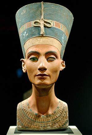 imagenes egipcias nefertiti arte descrita busto de nefertiti de tutm 233 s