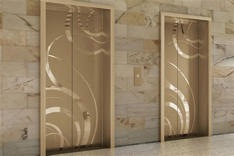 Small Modern Cabin by Fused Metal Elevator Doors Architectural Forms Surfaces