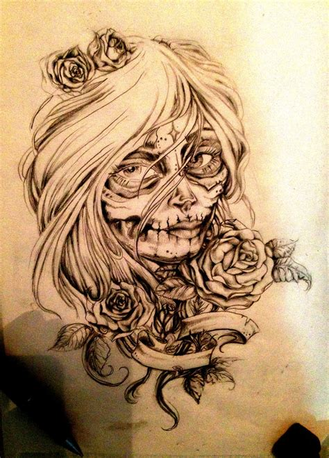 louisiana tattoo designs la catrina custom design by sedance on deviantart
