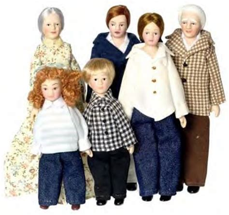 doll house families dollhouse families people