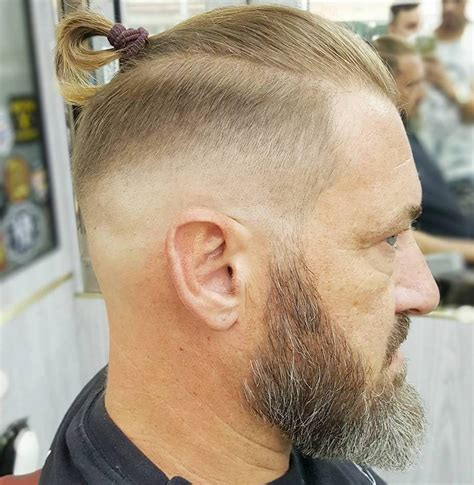 gentlemens haircuts short sides and fade with long on top 50 classy haircuts and hairstyles for balding men