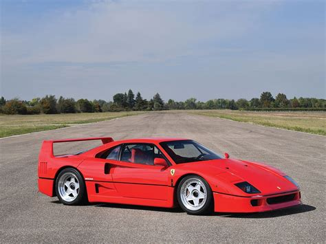 ferrari f40 ferrari f40 hits the auction block without reserve