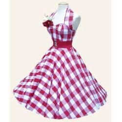 Gingham 1950s halterneck swing dress from vivien of holloway 1950s