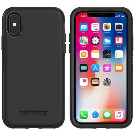 Iphone X Otterbox Symmetry Series Original otterbox symmetry apple iphone x black