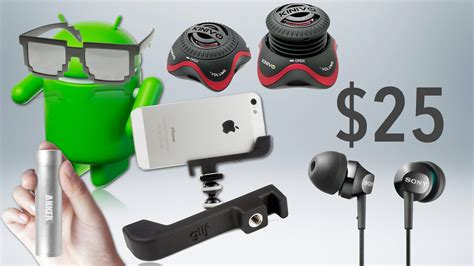best tech geek gifts under 25 2012 holiday gift guide
