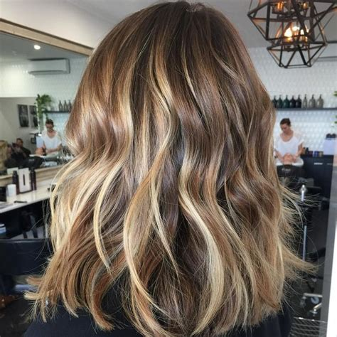 medium brown hair color with highlights and lowlights 45 ideas for light brown hair with highlights and