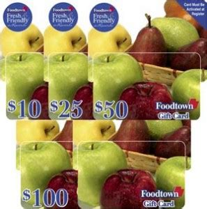 Foodtown Gift Card - give the gift of convenient grocery shopping foodtown gift cards
