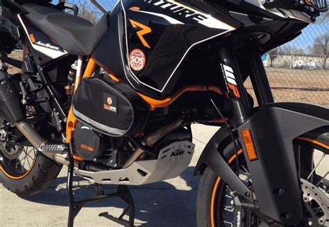 Ktm Crash Bars Crash Bar Bags For Ktm 1190 Adventure By Trailmaster