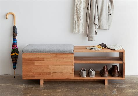 bench and shoe storage modern shoe storage bench styles