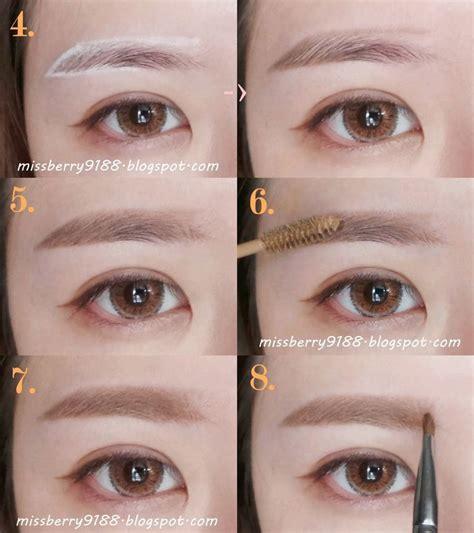 Tutorial Makeup Korea Mp4 Download | eyebrow korean tutorial buscar con google maquillaje