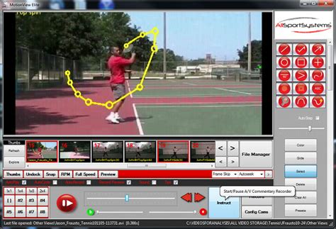 swing analysis software tennis swing video analysis software and systems for tennis