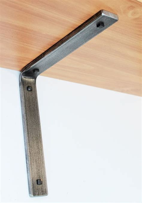 retro industrial style steel shelf bracket brackets