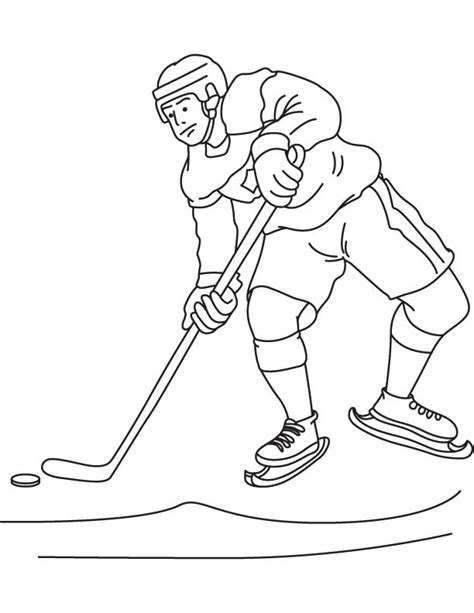 ice hockey canada coloring page download free ice hockey