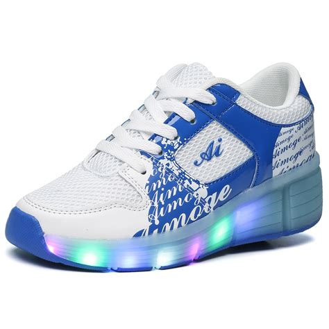 Sepatu Led Big 2016 boy led light heelys roller shoes heelys size