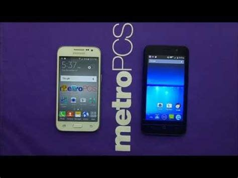 comparison samsung prime with zte obsidian for metro pcs