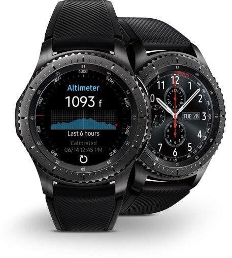 Smartwatch Samsung Gear S3 Frontier samsung gear s3 frontier smartwatch tracker fitnesstracker24