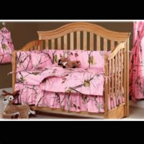 Pink Camo Crib Set Things For My Grandkids One Day Pink Camo Baby Bedding Crib Set