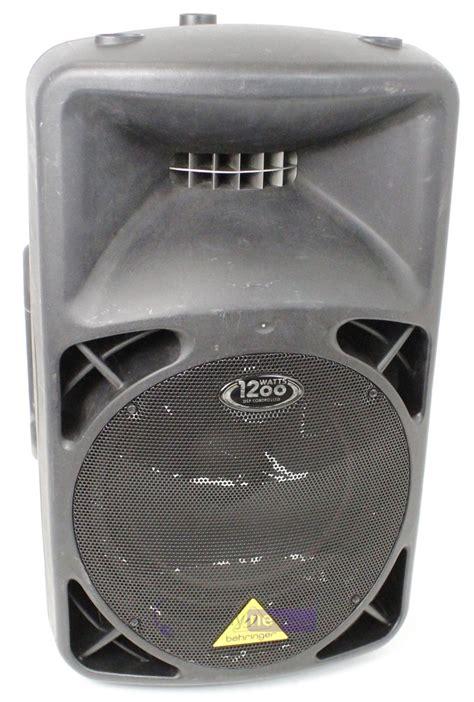 Behringer Eurolive B812neo Speaker Aktif Sound System 12 Inch behringer eurolive b812neo 1200w 12 quot speaker whybuynew