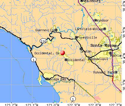 occidental california ca 95465 profile population