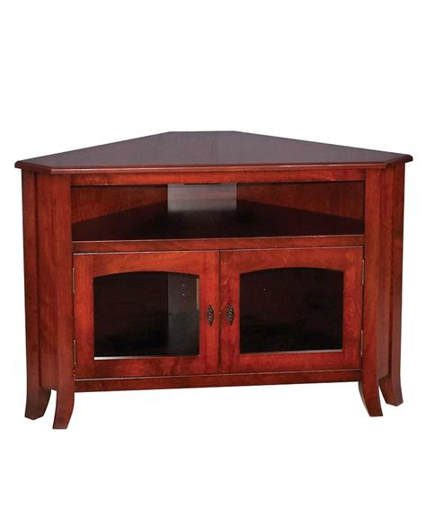 mission style 32 corner tv stand amish direct