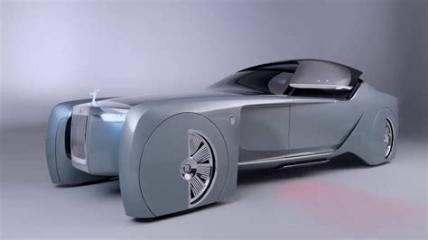 roll royce future car rolls royce future vision concept car
