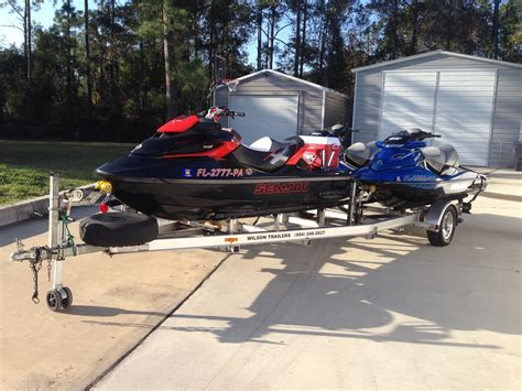 waterscooter tips triple jetski package 3 passenger seadoos sold