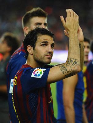 fabregas tattoo design 10 best looking players in soccer today handsome