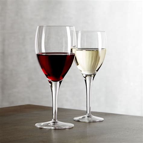 wine glasses otis wine glasses crate and barrel