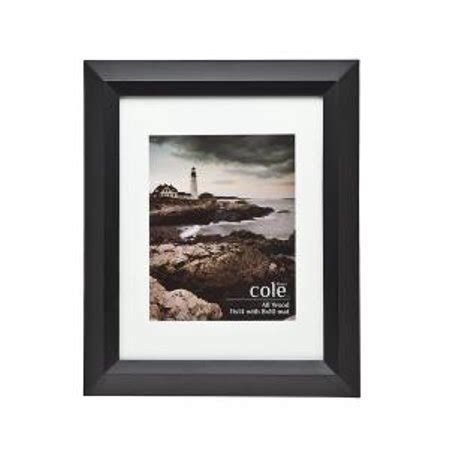 10 x 10 black frame with mat montego black picture frame 11x14 with 8x10 mat walmart