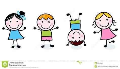 kid doodle free doodle happy stock image image 25152401