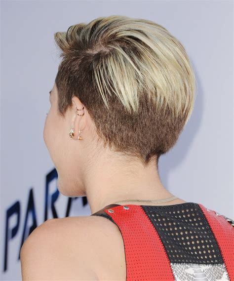 picturs of miley cyrus pink haircut front back and sides miley cyrus undercut back view hair for mr mrs