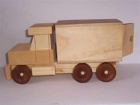 Handmade Wooden Trucks - handmade wooden delivery truck