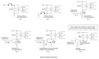relay driver circuits