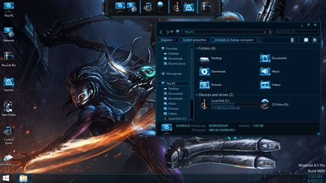 video game themes for windows 10 starcraft skinpack skinpack customize your digital world