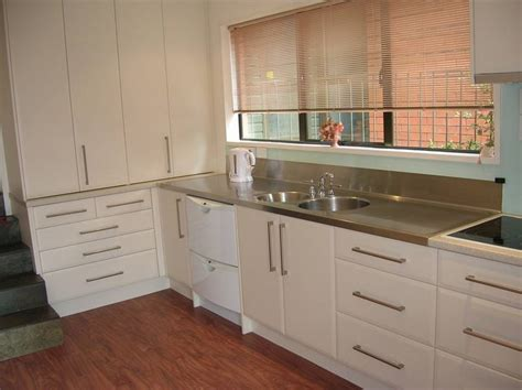 How To Design A Kitchen Pantry by Stainless Steel Benchtops Photo Galleries Kiwi
