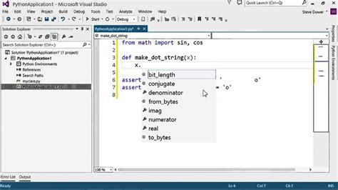 august 2016 python tutorial python tutorial 3 6 editing python code using visual