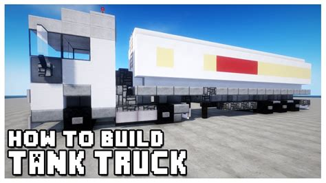 minecraft truck minecraft how to tank truck